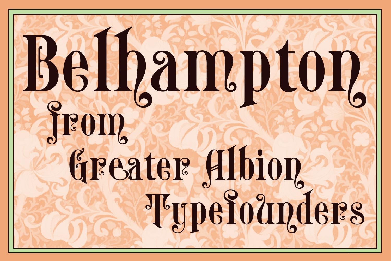 Belhampton Regular example image 2