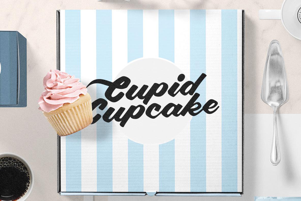 Polaroid Font example image 8