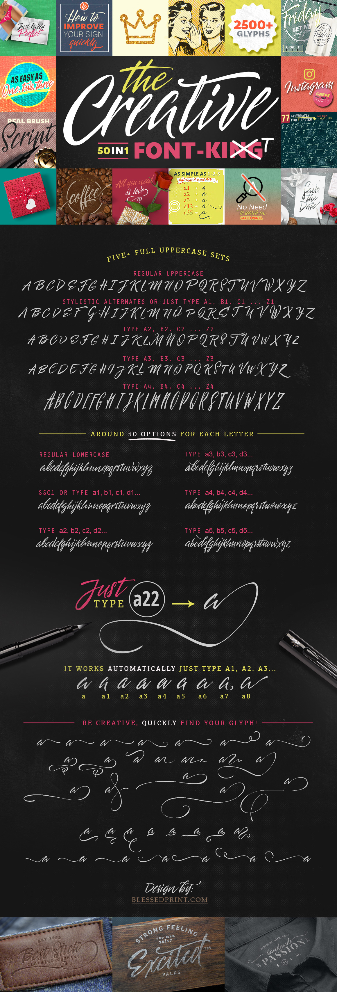 The Creative Font-Kit example image 13