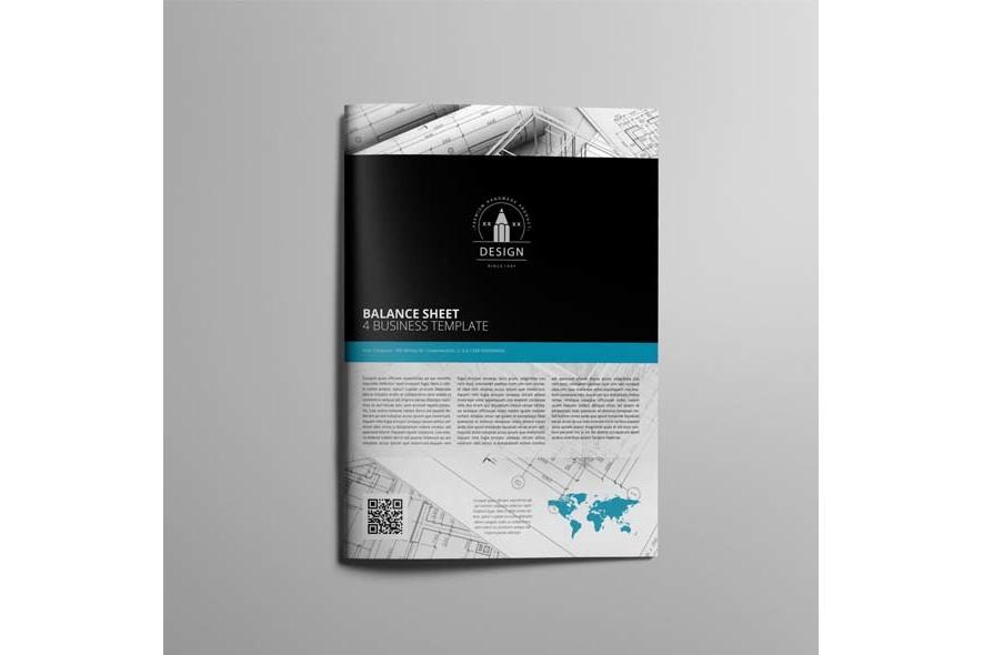 Balance Sheet 4 Business Template example image 4