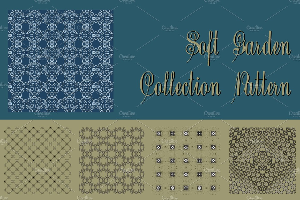 Soft Garden Collection Pattern example image 1