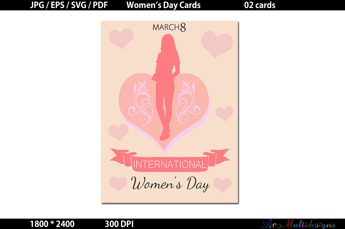womens day / Womens Day svg card / Womens Day Graphics / Womens Day vector example image 2