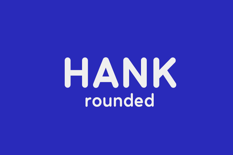 Hank Rounded example image 1
