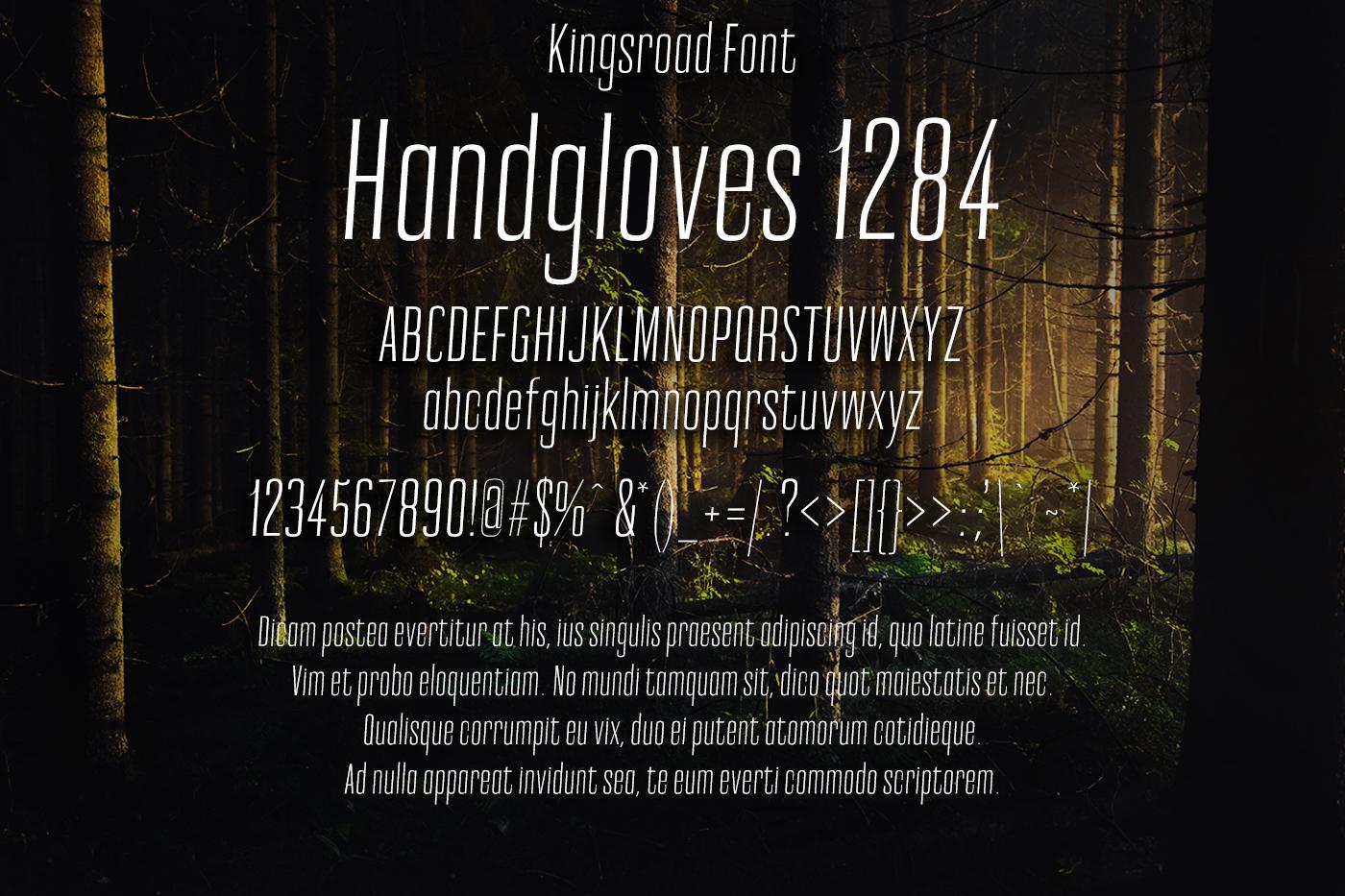 Kingsroad Font example image 2