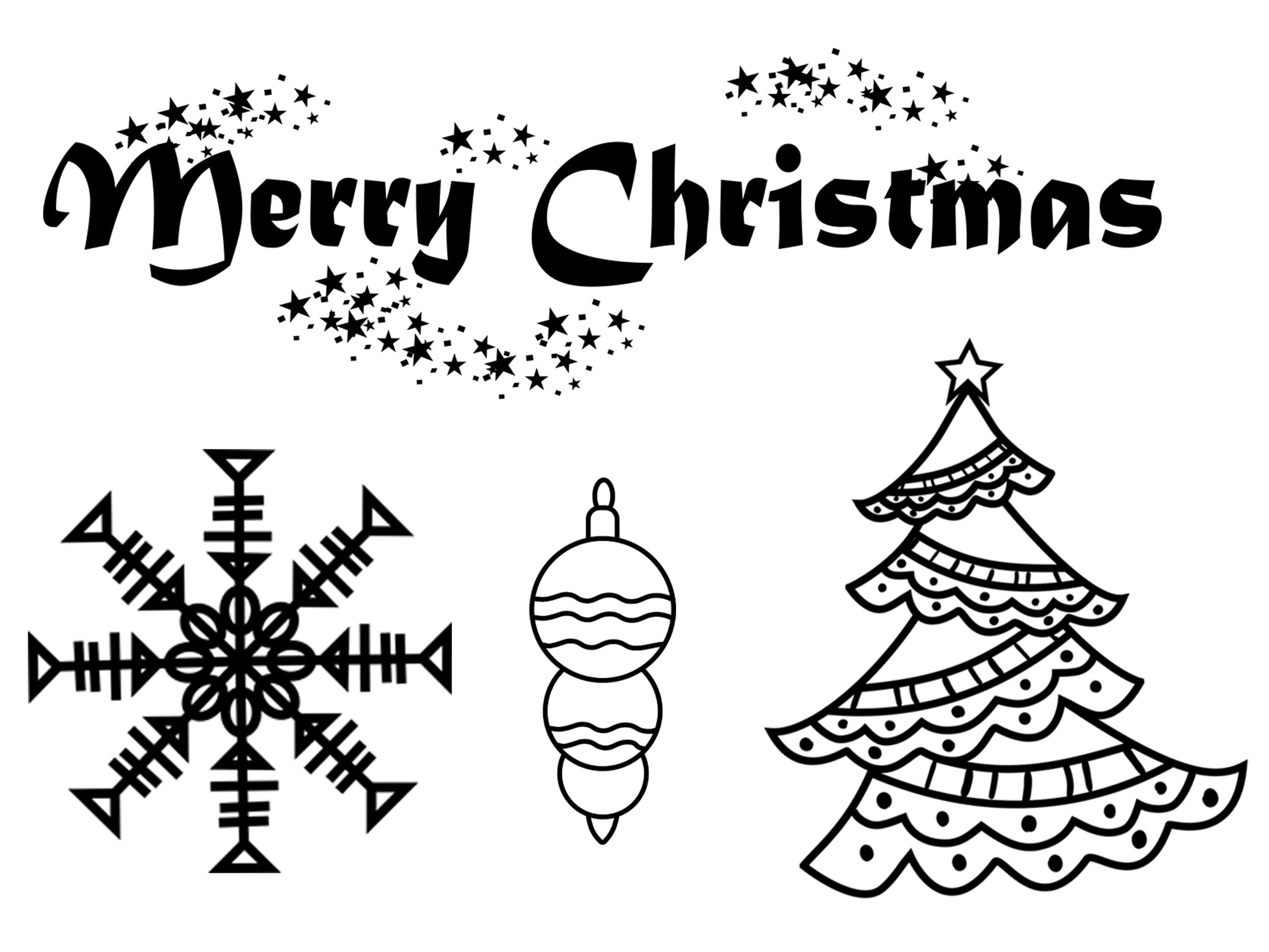 Christmas Tree Clip Art example image 2