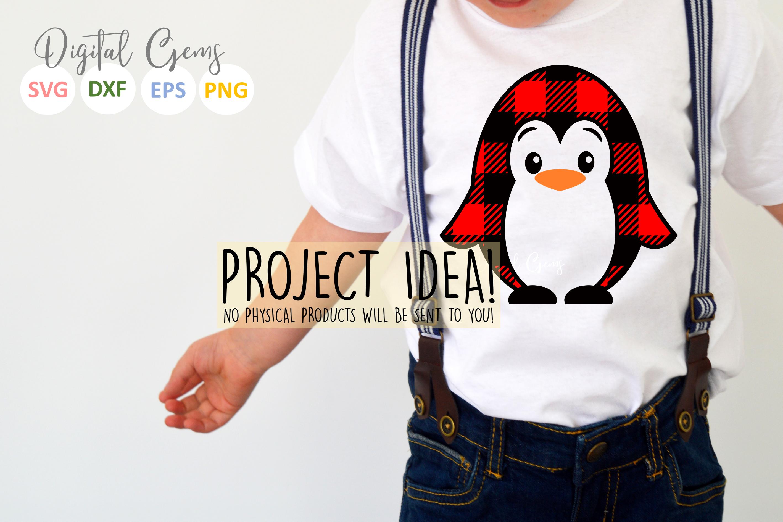Plaid Penguin design example image 2