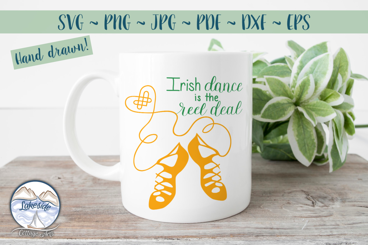 Irish Dance is the Reel Deal SVG Design example image 2