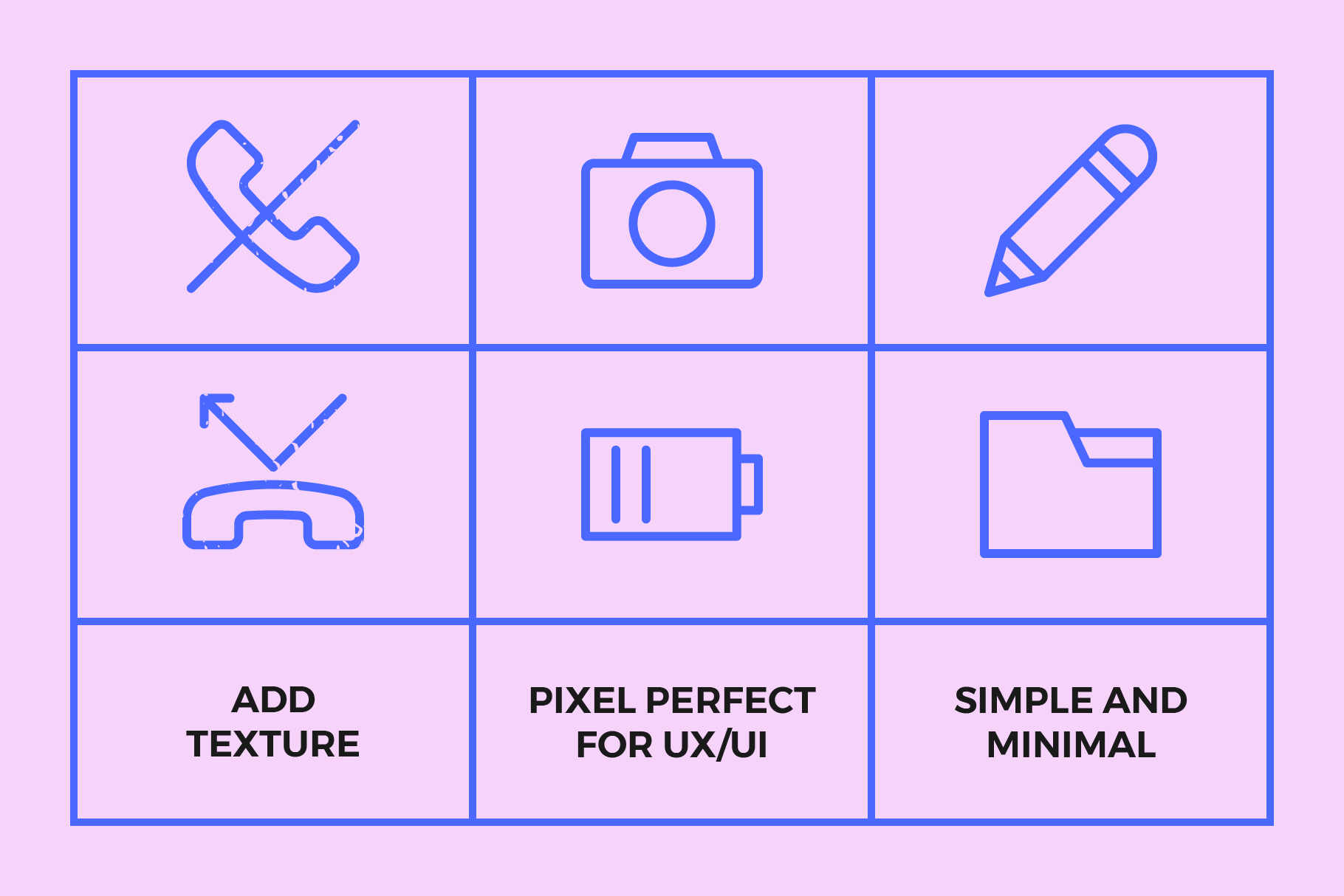 250 User Interface Line Icons example image 3