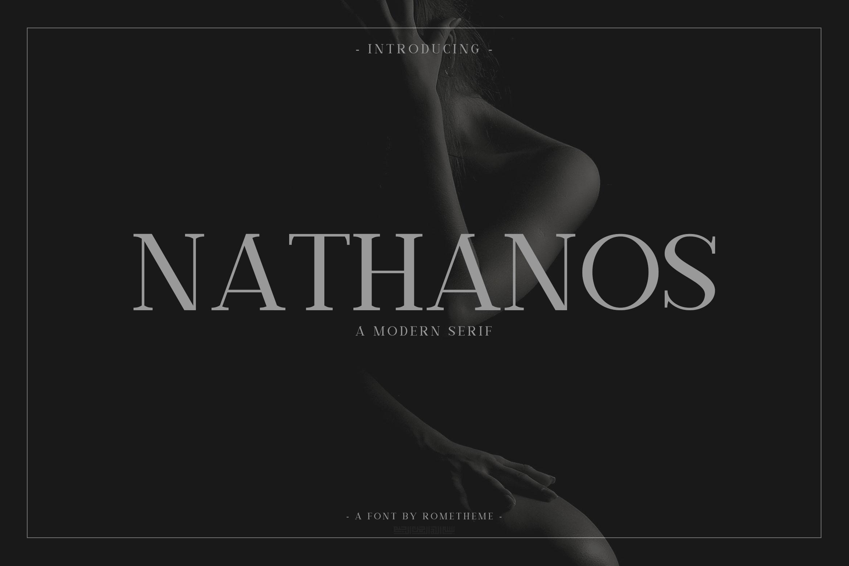 Nathanos - Serif Typeface example image 1
