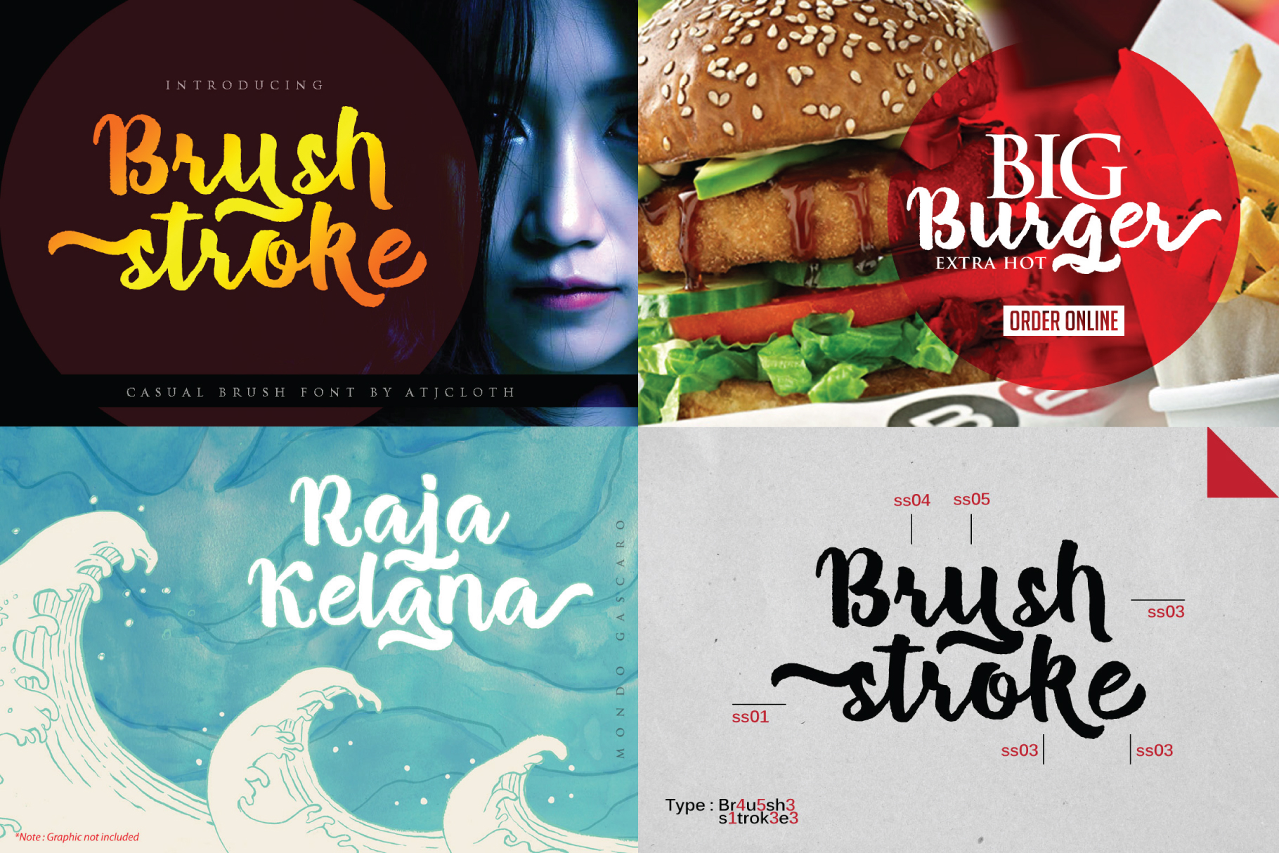 BLACK FRIDAY - 8 BRUSH FONT example image 7
