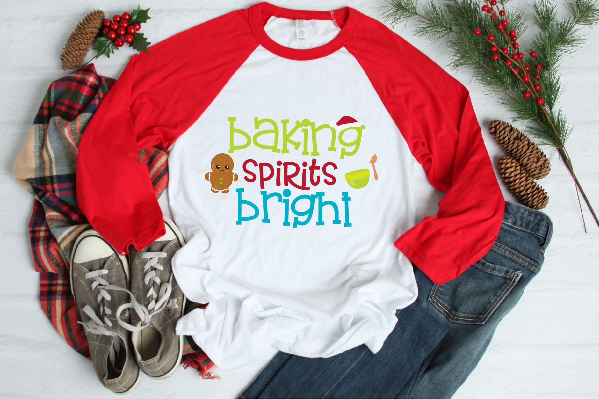 Christmas Cookie Baking Bundle SVG, Christmas Sublimation example image 12