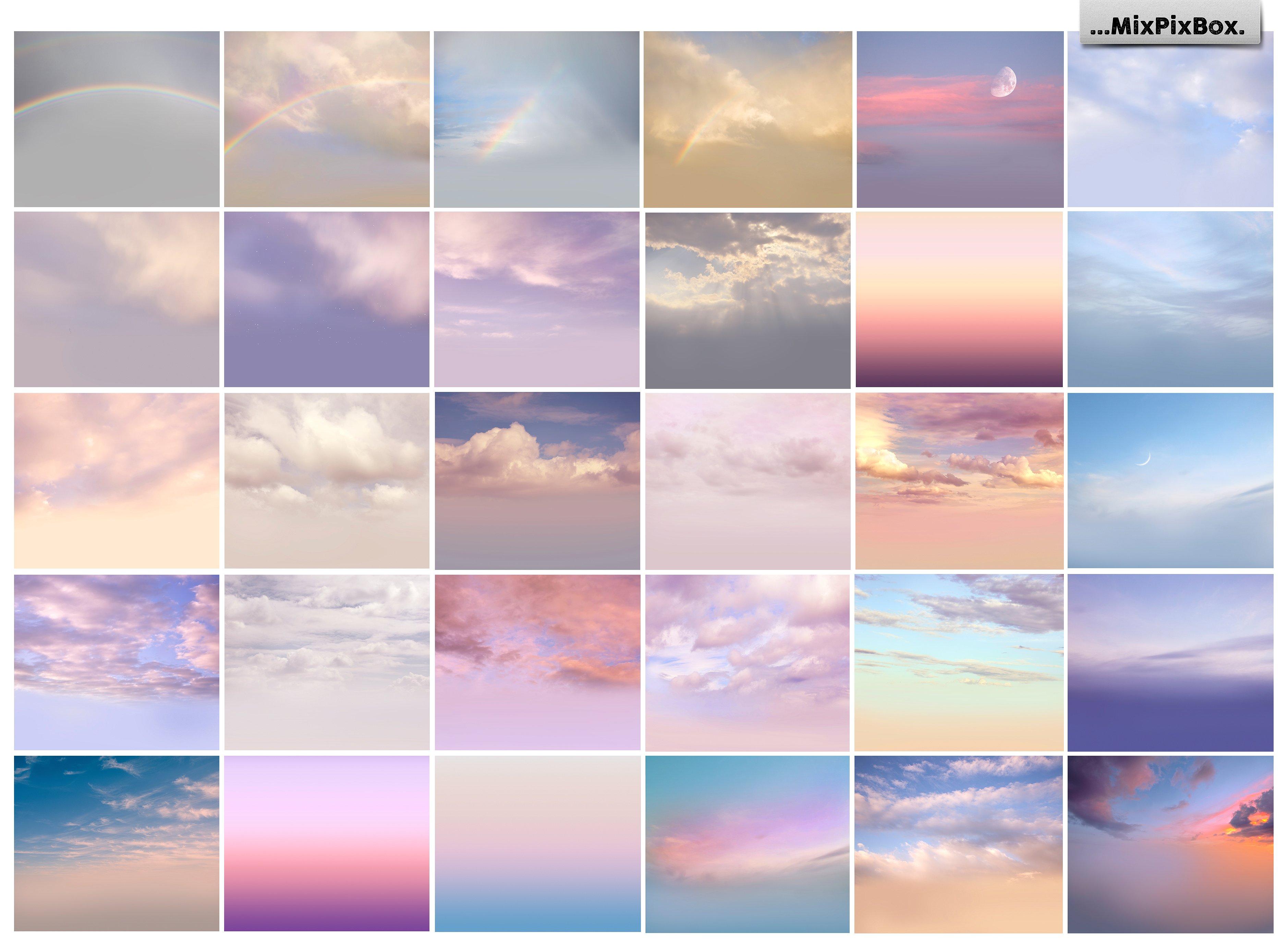60 Romantic Sky Overlays example image 3