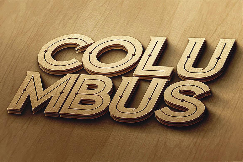 Columbus Typeface example image 5