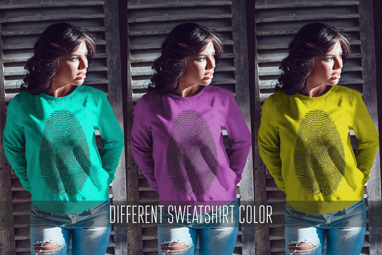 Sweatshirt Mock-Up Vol.1 2017 example image 14