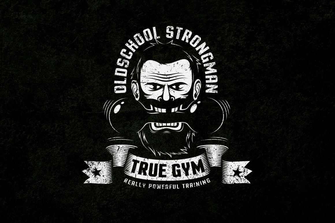 Gym Retro Logo 2 example image 9