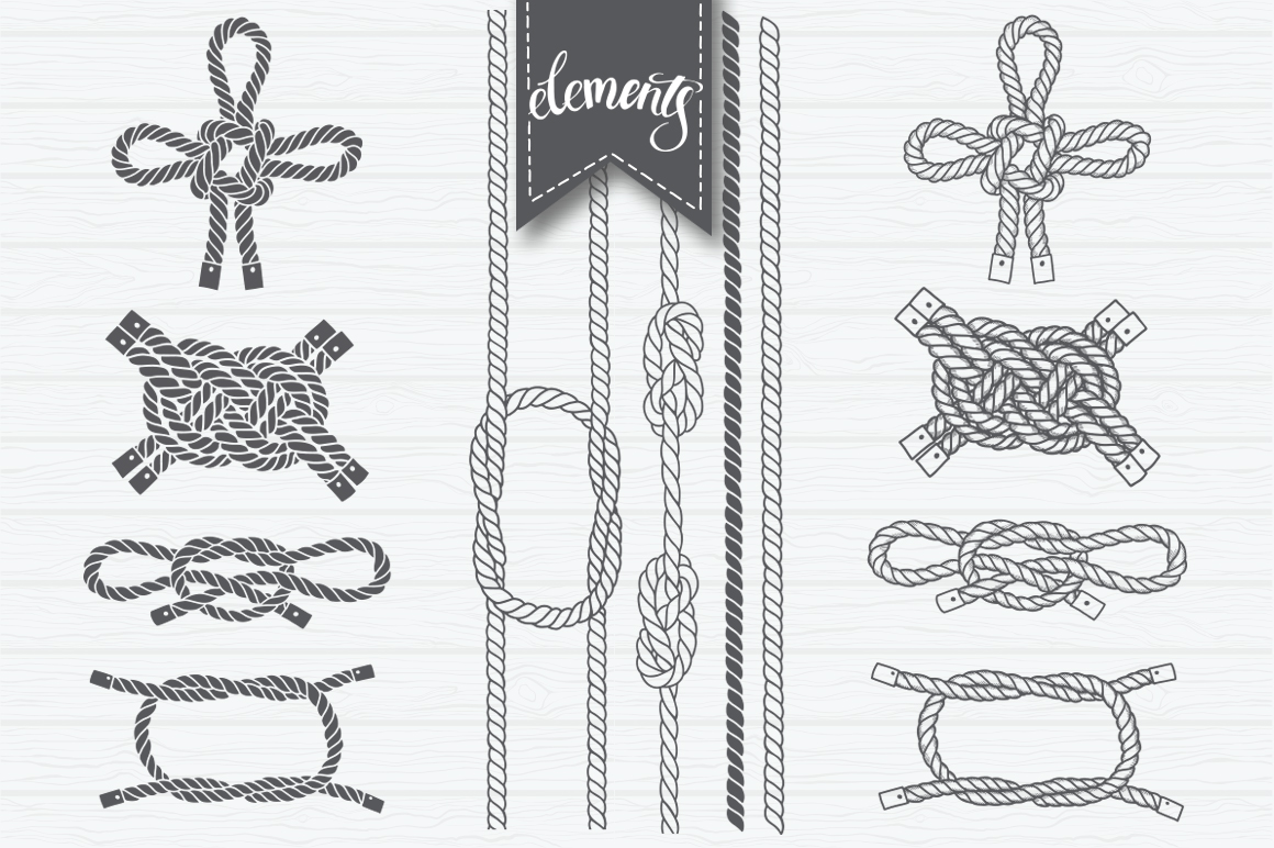 Marine rope and knots  example image 4