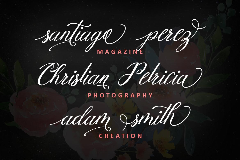 Mottingham Elegant Calligraphy Typeface example image 2