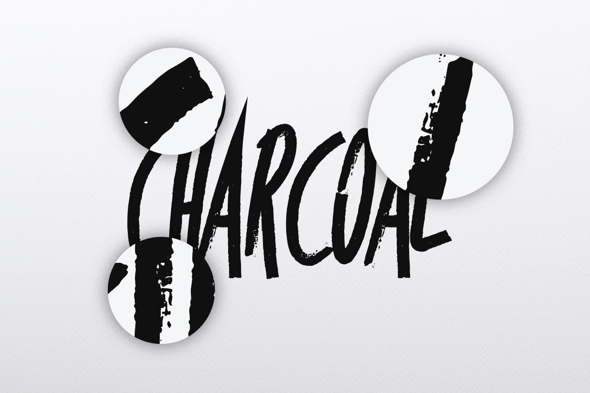 Charcoal Brush Collection example image 2