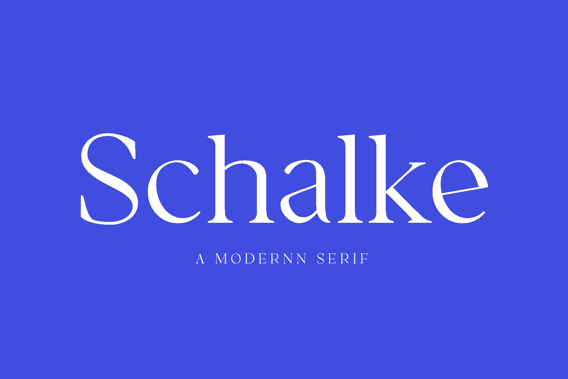 Schalke - Modernn Serif example image 1