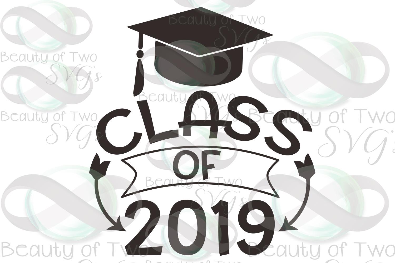 Class of 2019 svg, 2019 Graduate svg, Congrats 2019 grad svg example image 3