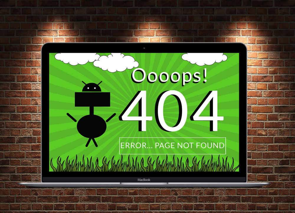 Not Found 404 Page  example image 3