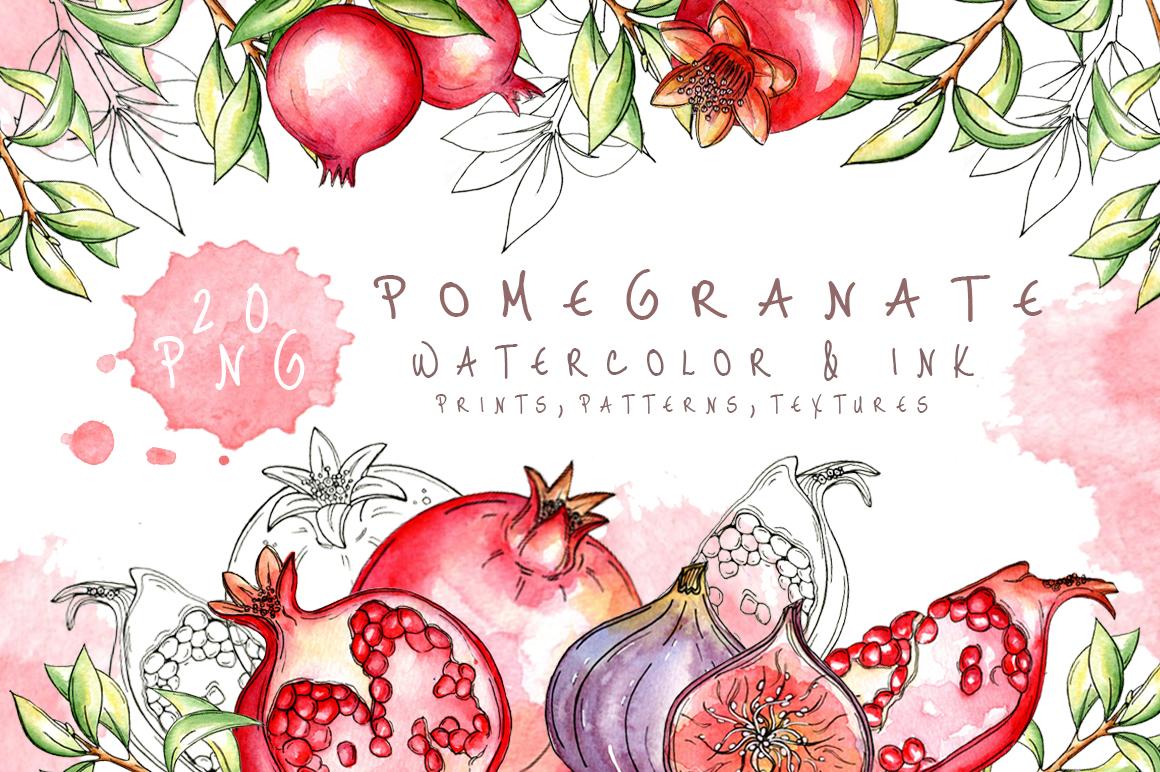 Juicy Pomegranate example image 1