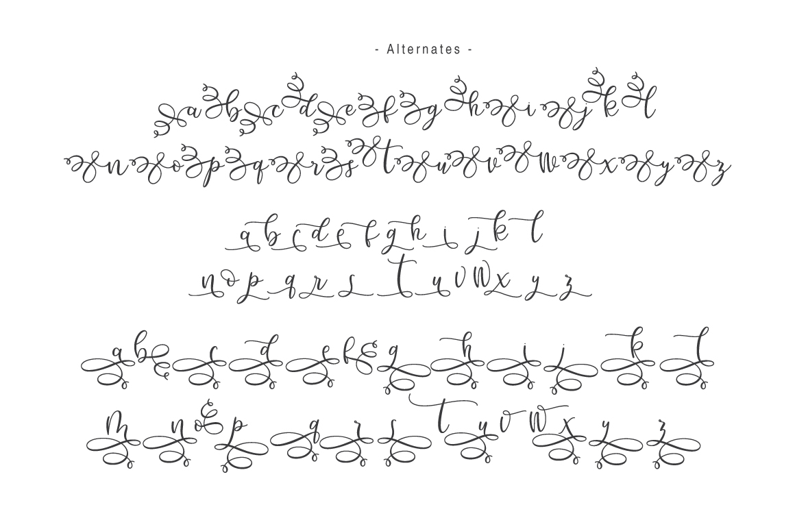 Hello Bunda Typeface example image 3