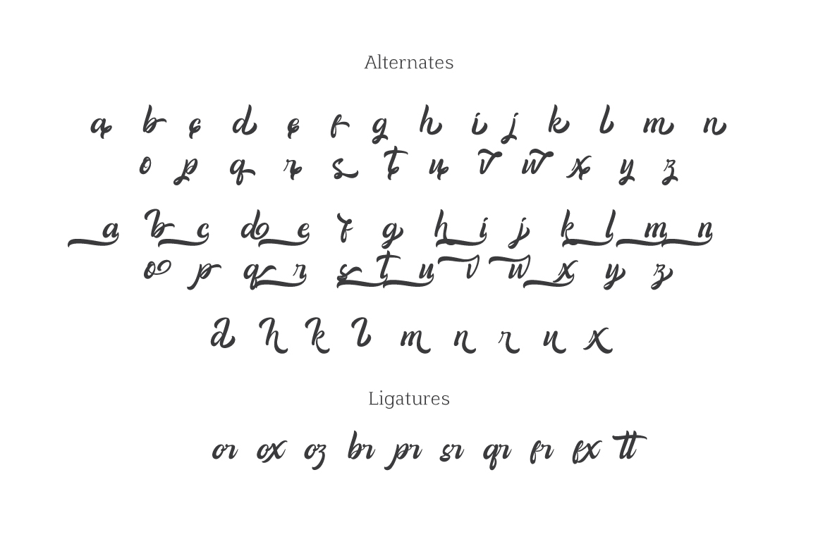 Amigos Typeface example image 7