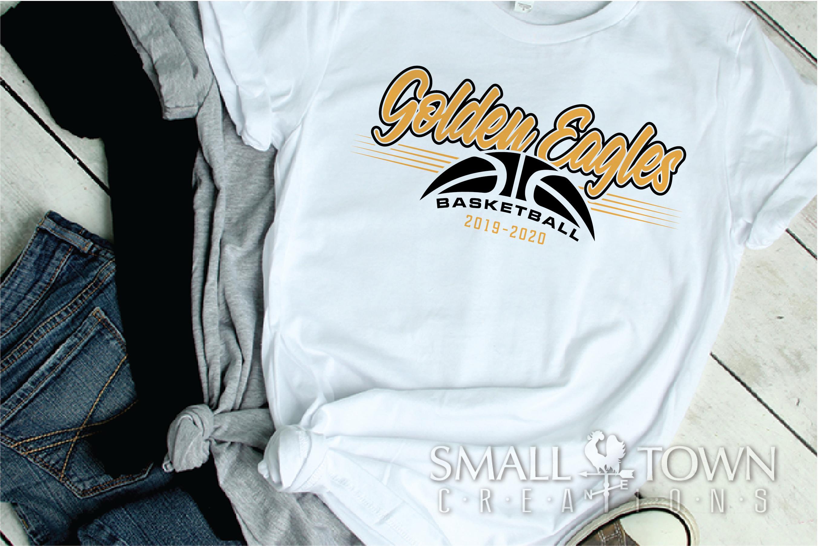 Golden Eagles, Basketball, Sport, Design, PRINT, CUT, DESIGN example image 2