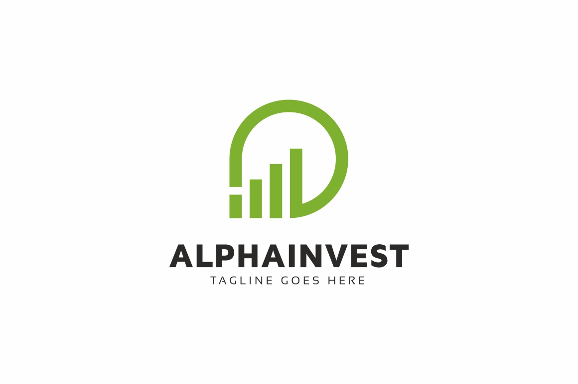 Alpha Invest Logo example image 1