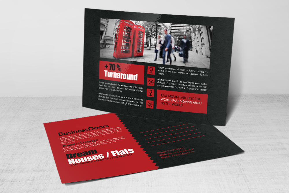 Multi Use Business Postcards example image 3