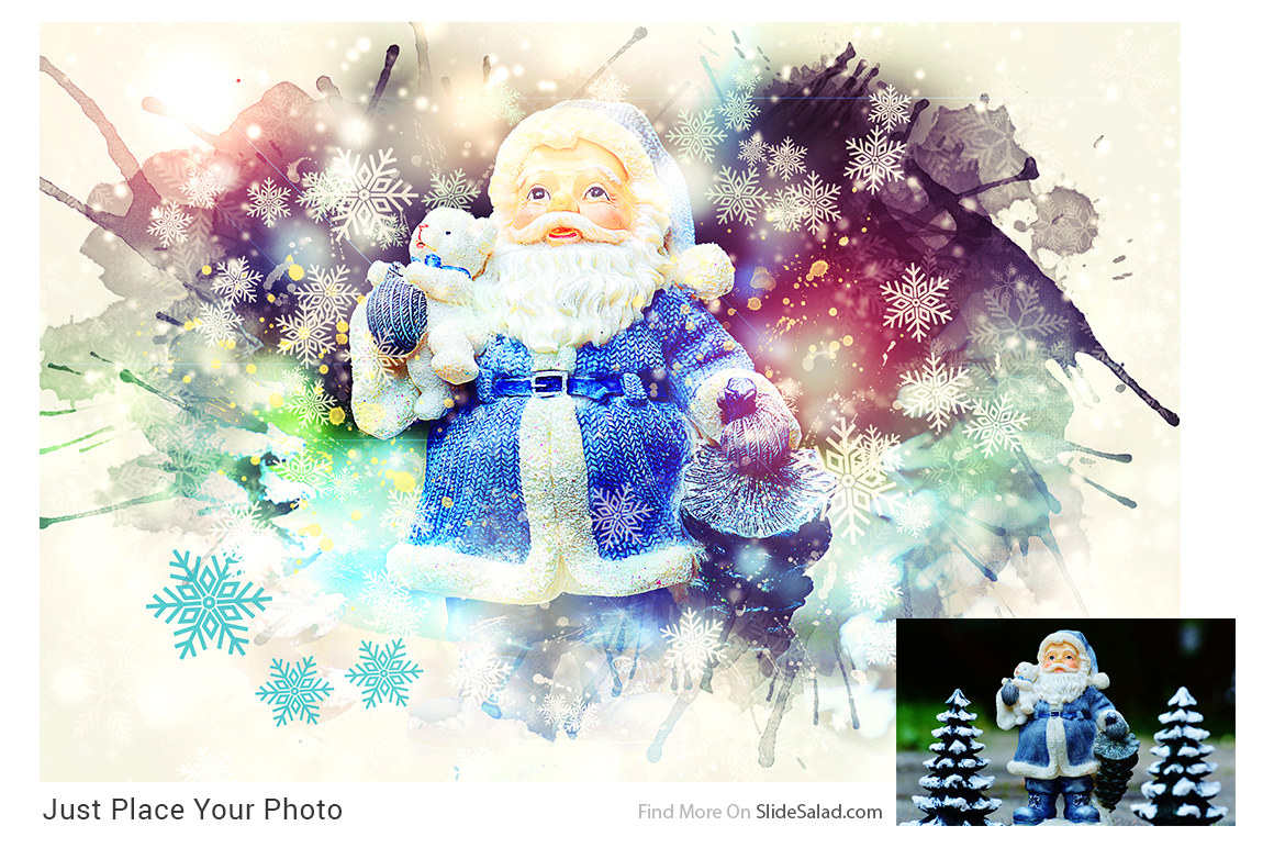 Christmas Photoshop Mock-ups example image 3