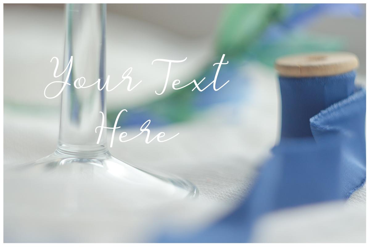 Something blue. Wedding mockups & stock photo bundle example image 4
