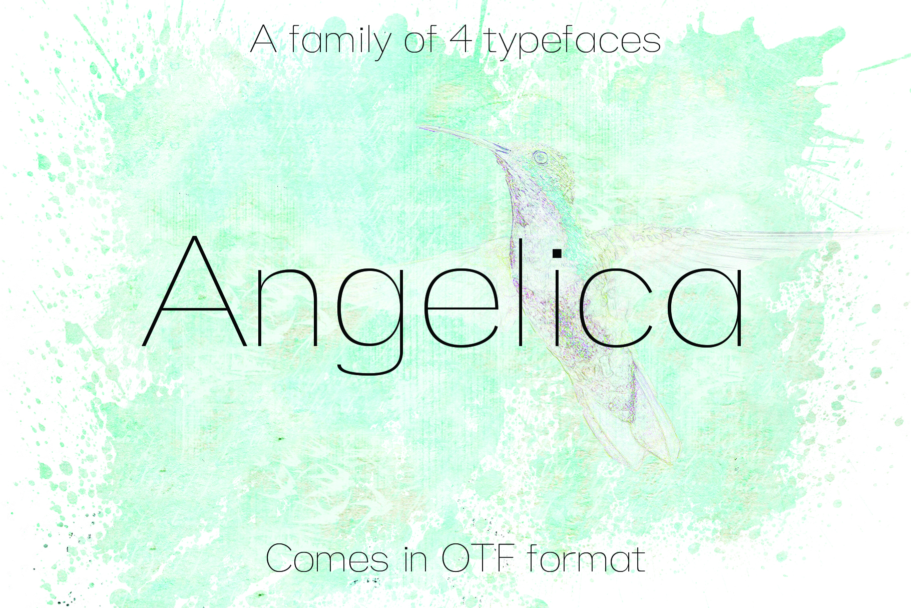 12 fonts in one bundle example image 6