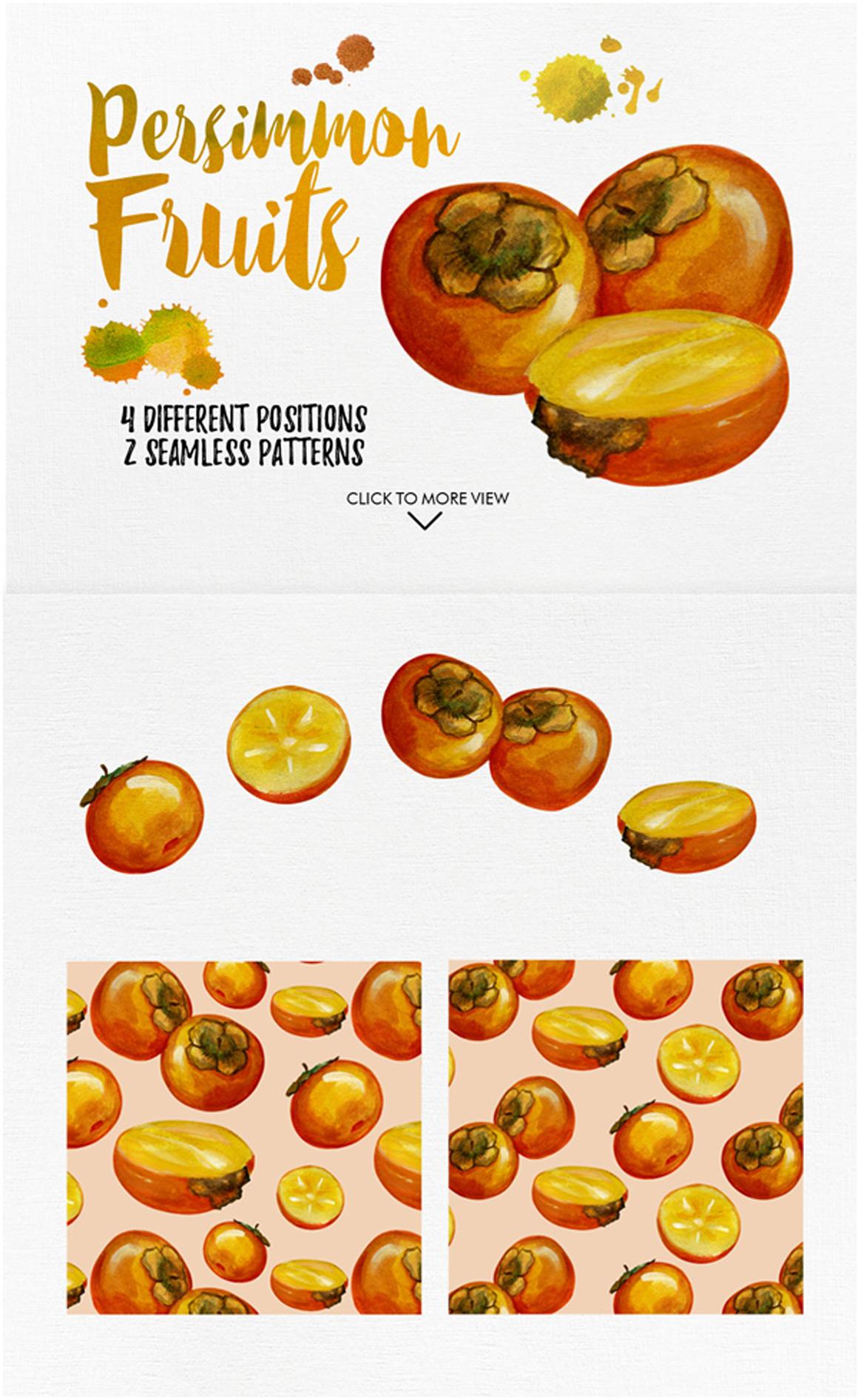 watercolor fruit vol.7 example image 3