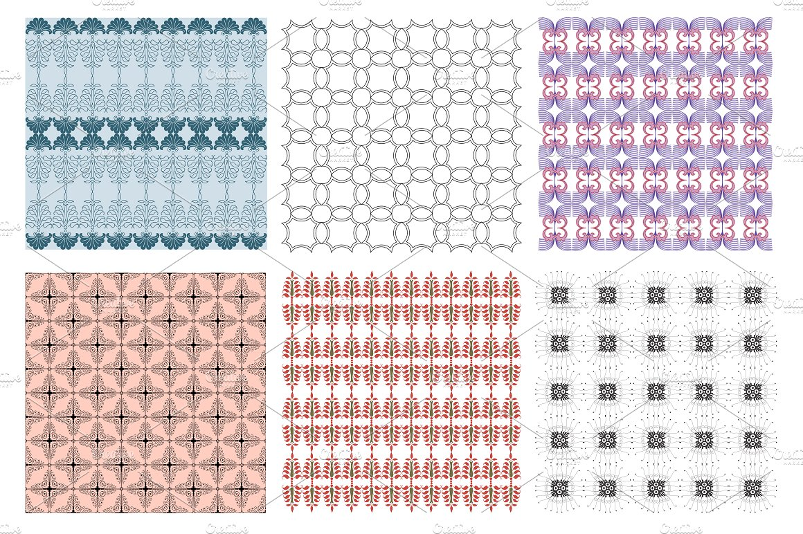 Soft Garden Collection Pattern example image 2
