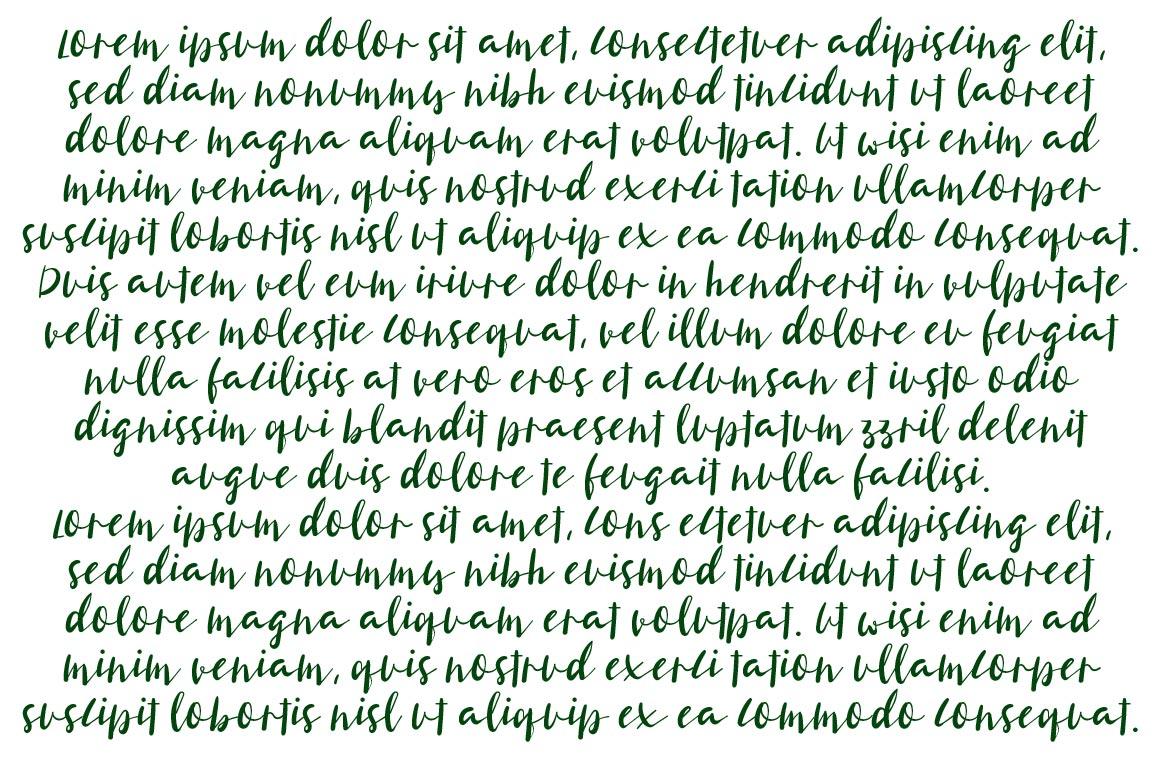 Smittentars Script Font example image 2