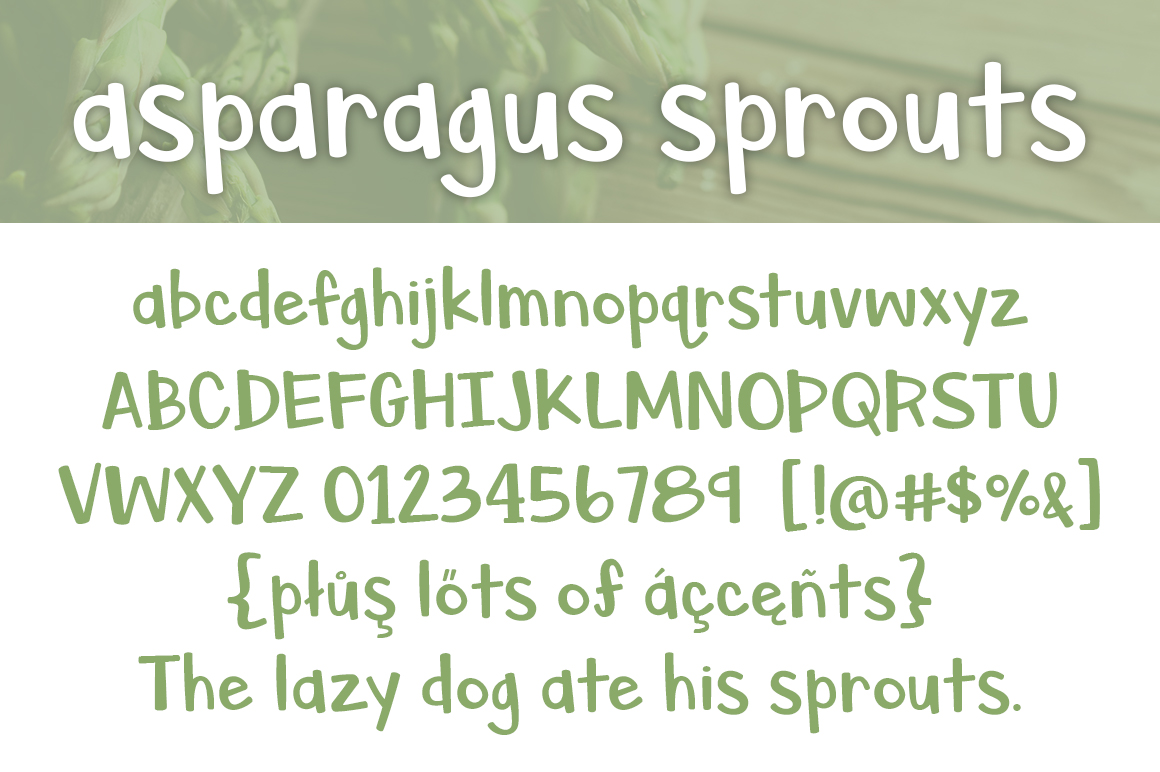 Asparagus Sprouts example image 2