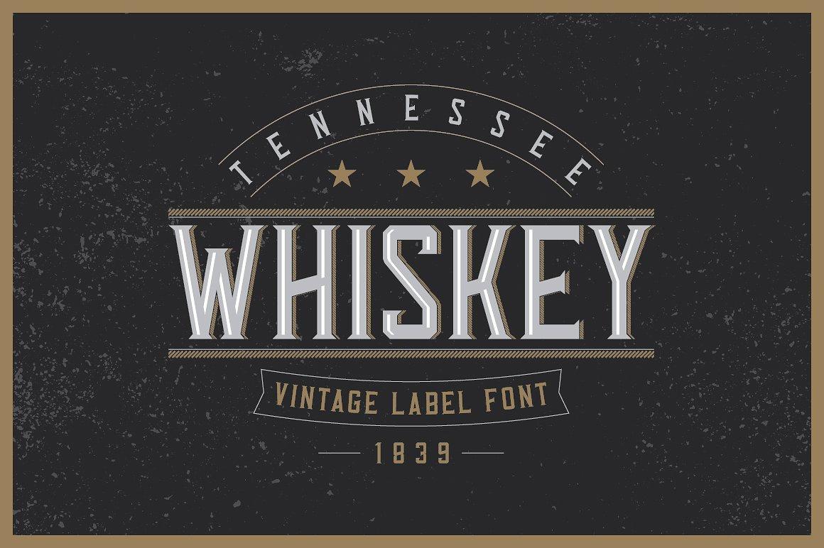 Whiskey Fonts Bundle example image 15