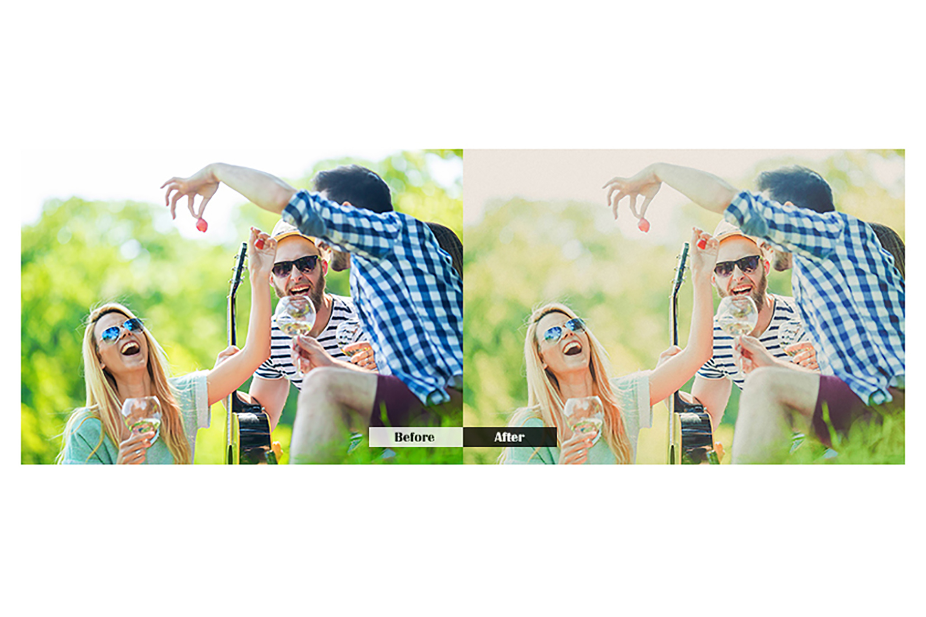 Holiday Lightroom Mobile Presets example image 4