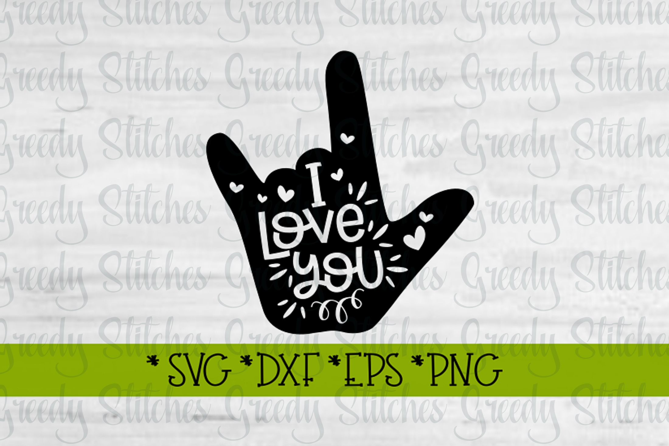Download Valentine's Day | I Love You Sign Language SVG (184987 ...
