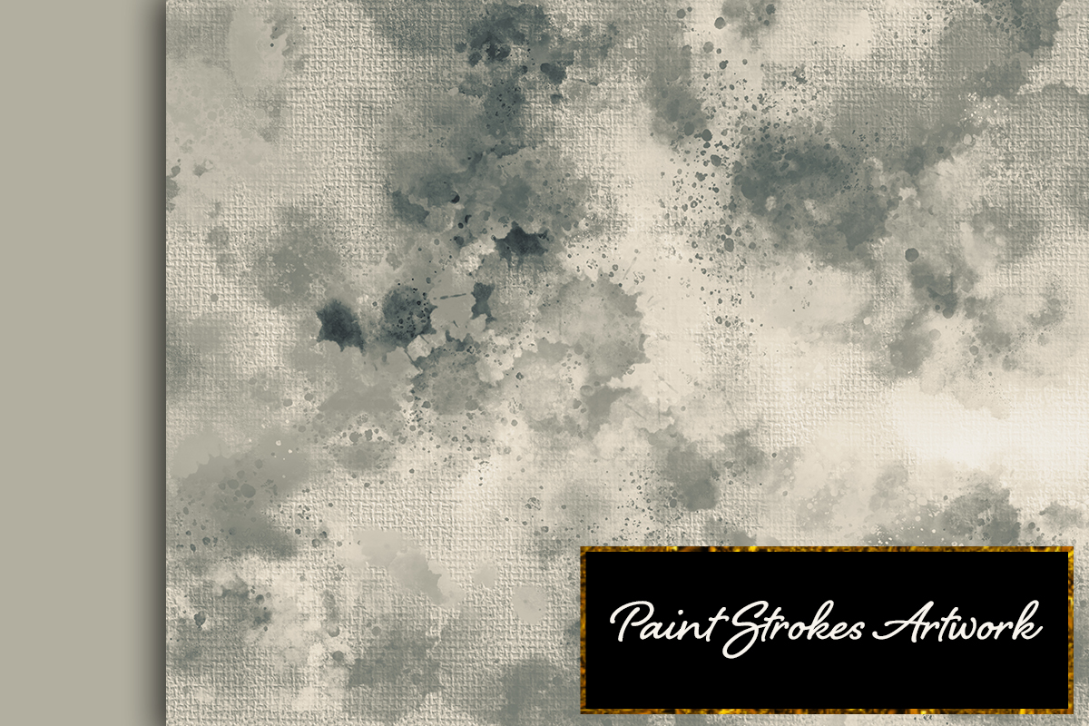 22 Colorful backgrounds. Watercolor splatter on canvas paper example image 3