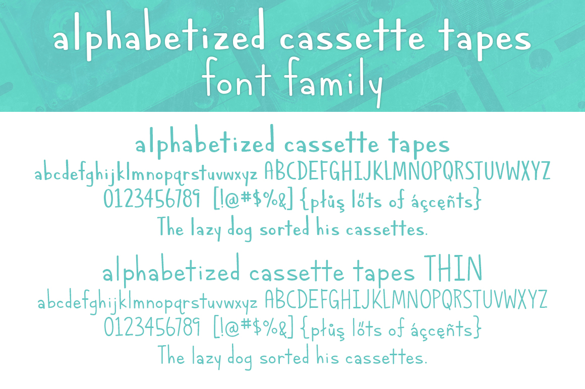 Alphabetized Cassette Tapes  example image 4