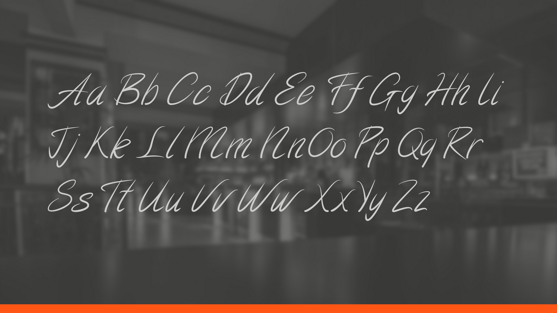 Al Dente Font example image 2