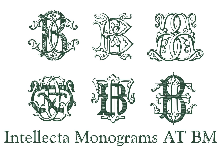 IntellectaMonograms AT BM example image 6