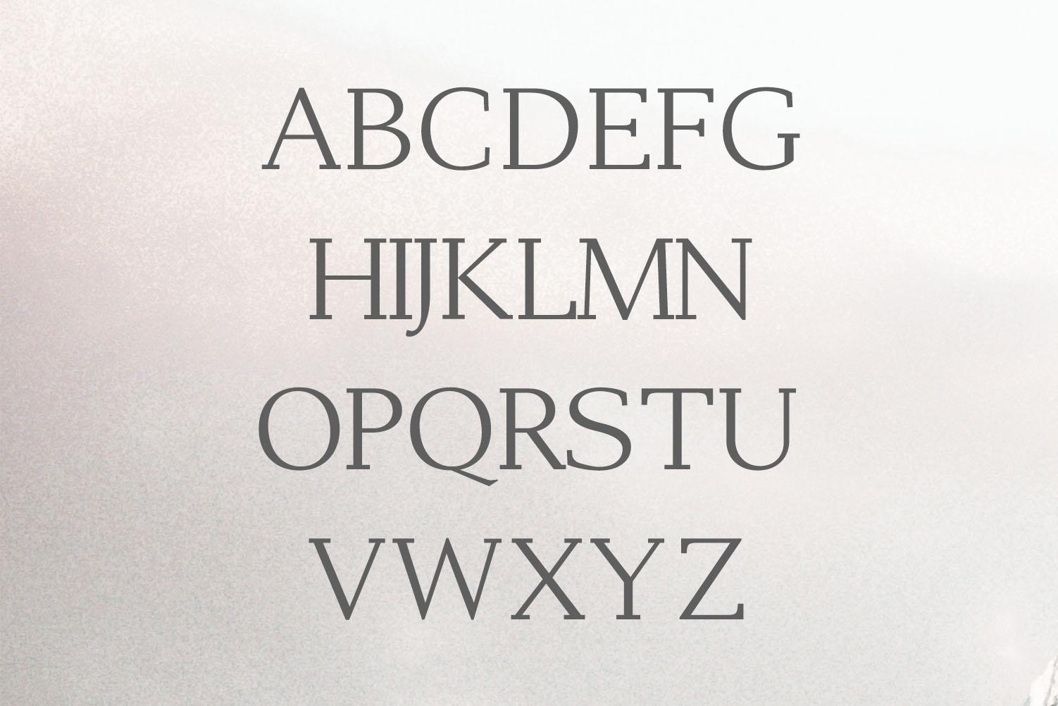 Adrina Modern Serif Font Family example image 2