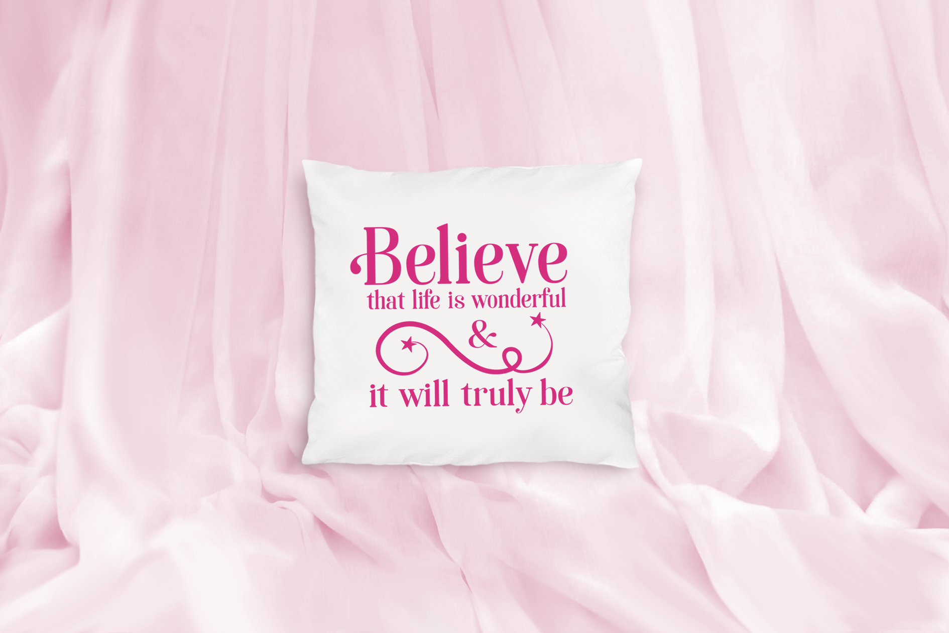 Believe that Life is Wonderful, An Inspirational Life SVG example image 3