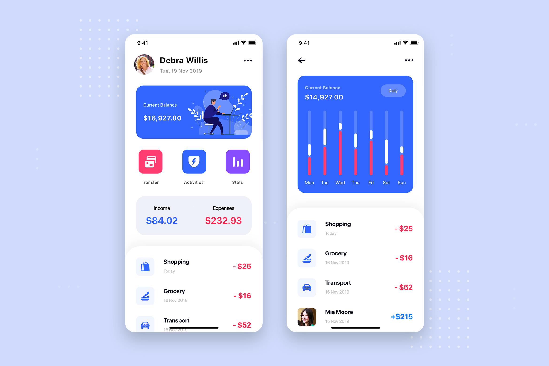 Curium - Financial UI Kit example image 16