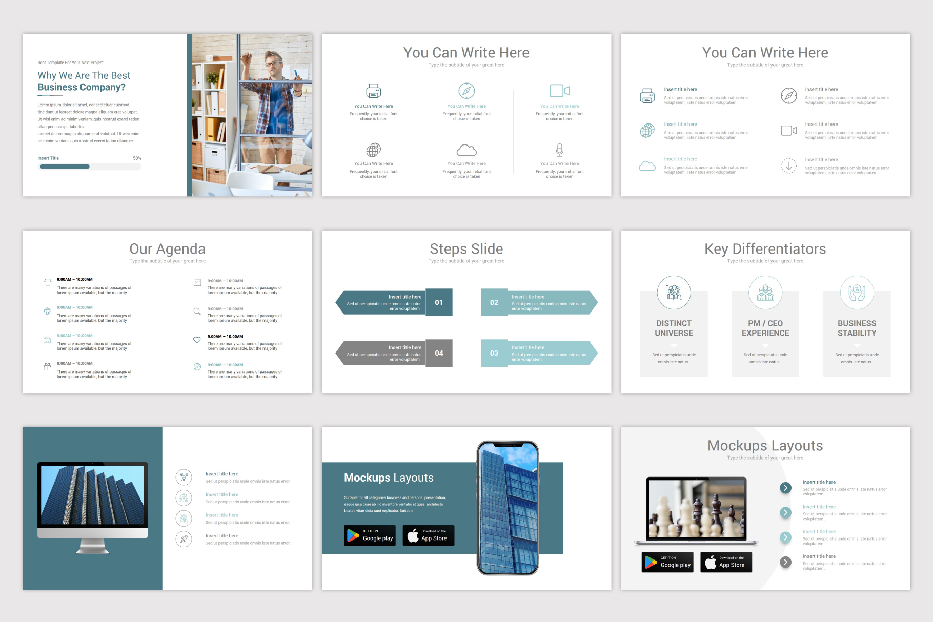 Simplicity Google Slides Template example image 13