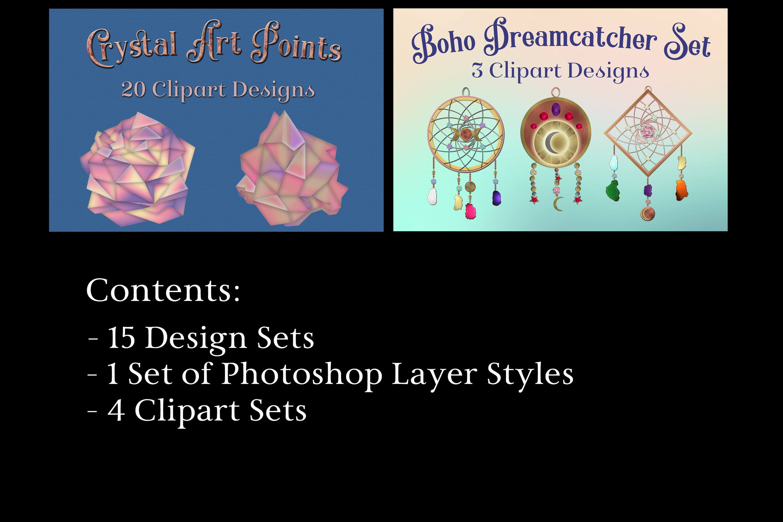 The Sapphire X Designs Creative Design Bundle - 20 Products example image 4